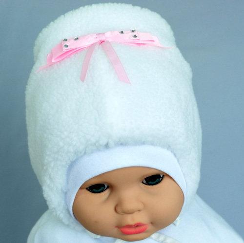 Зимняя шапочка ЯНКА, белый