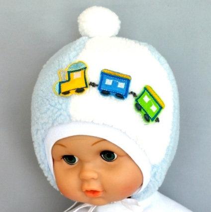 Зимняя шапочка КЕША, светло-голубой