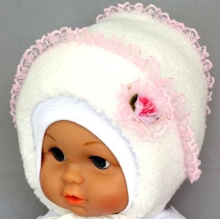 Зимняя шапочка МАРИША, белый