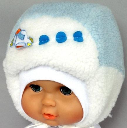 Зимняя шапочка РУСЛАНЧИК, светло-голубой