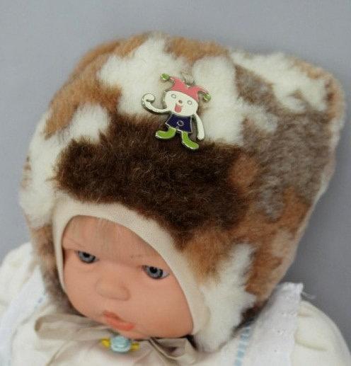 Зимняя шапочка ХРУСТИК, коричневый