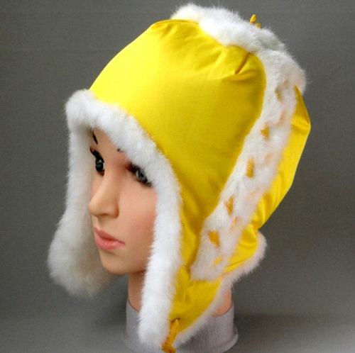Зимняя шапочка СВЕТА, желтый