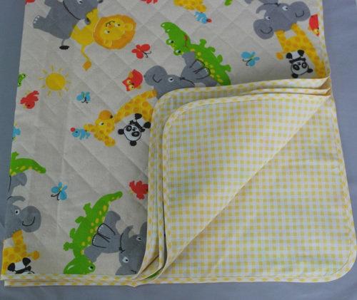 Одеяло детское утепленное, желтый