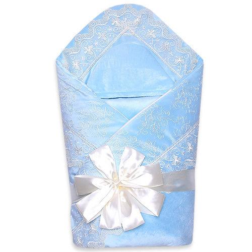 Комплект на выписку деми VENEZIA, голубой