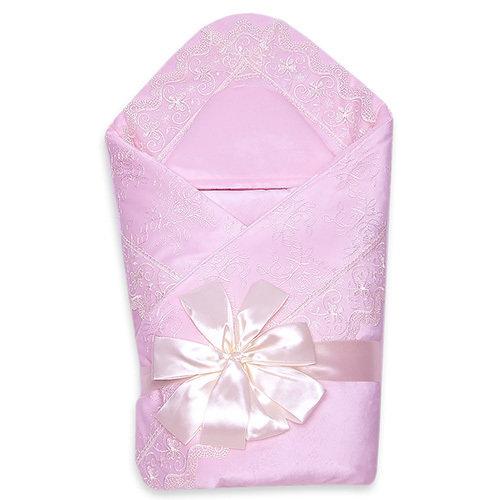 Комплект на выписку деми VENEZIA, розовый
