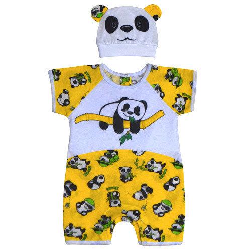 Комплект Панда, желтый