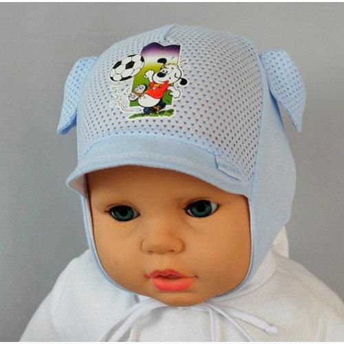 Летняя шапочка ФОМКА, голубой