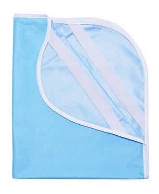 Наматрасник из клеенки 60х120, голубой