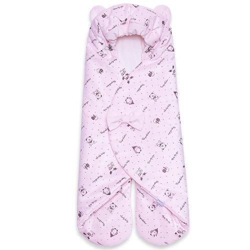 Конверт для автолюльки MISHKA (лето), розовый