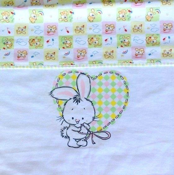 Одеяло детское двойное, светло-розовый