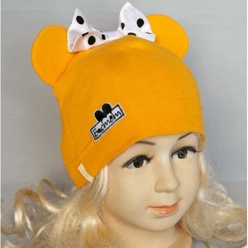 Шапка детская Маус-2, жёлтый