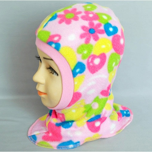 Шапочка-шлем Бимоша, розовый