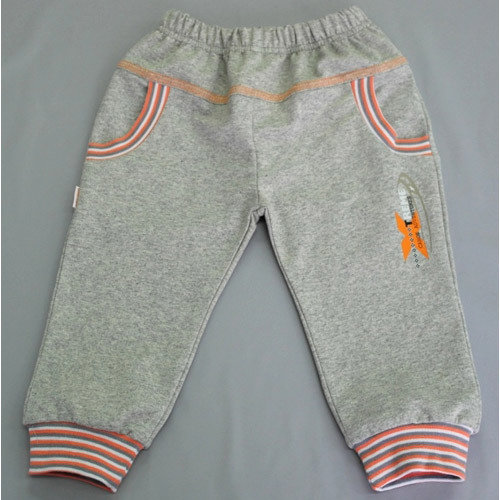 Штанишки на манжетах, с карманами, серый Х