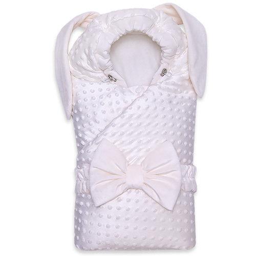 Одеяло с капюшоном деми ZAYA, молочный