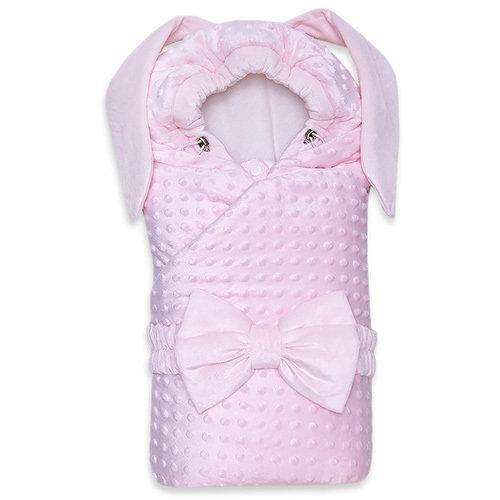 Одеяло с капюшоном деми ZAYA, розовый