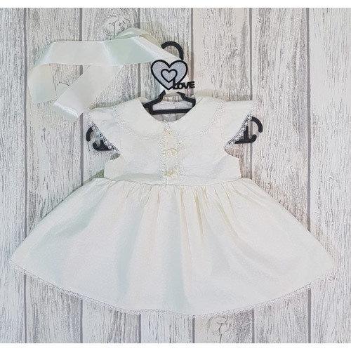 Платье Роза, молочный