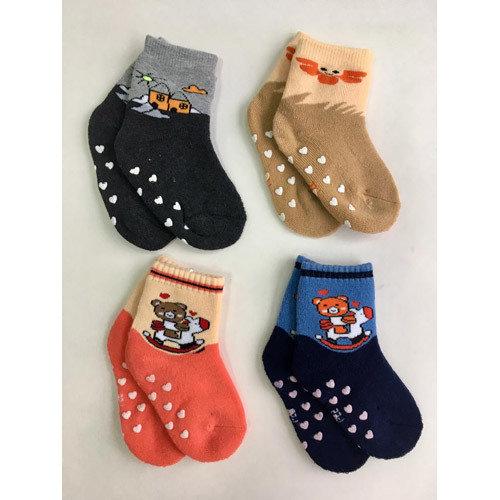 Носки детские махровые, с тормозами