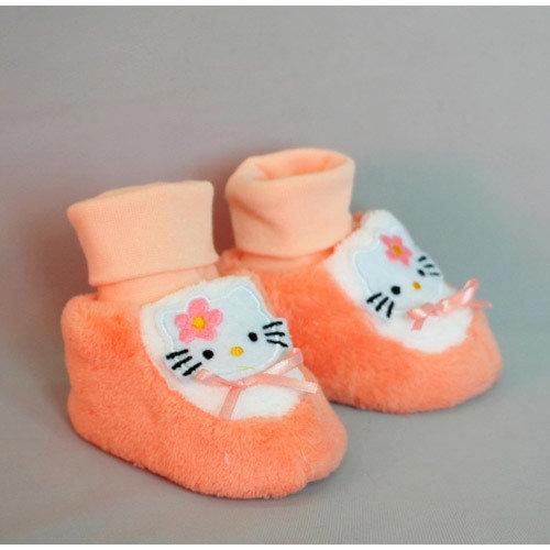 Башмачки Китти, персик