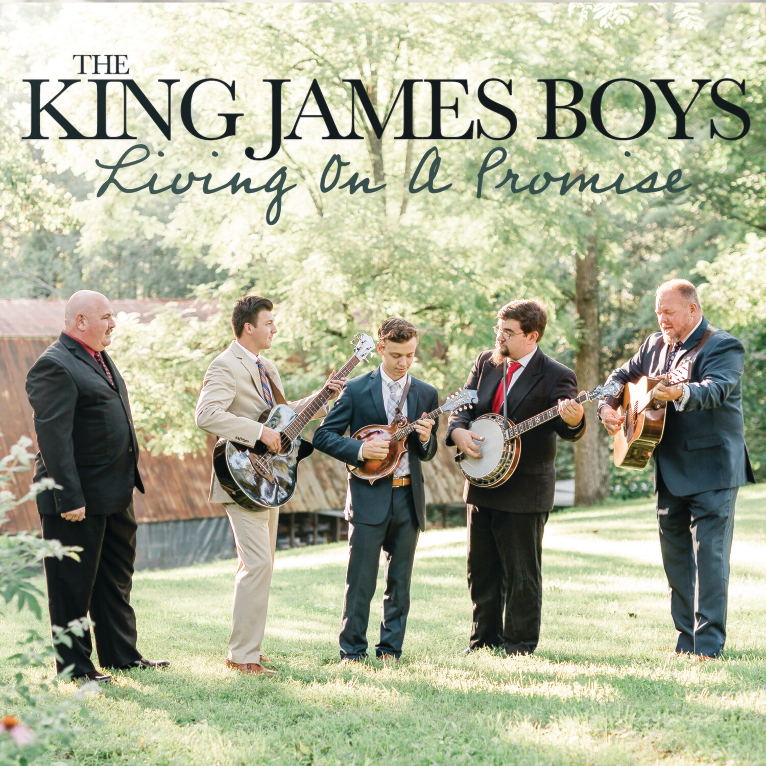 King James Boys - Living On A Prayer (ships 3/19)