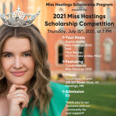 2021 Miss Hastings Scholarship Competition Tickets