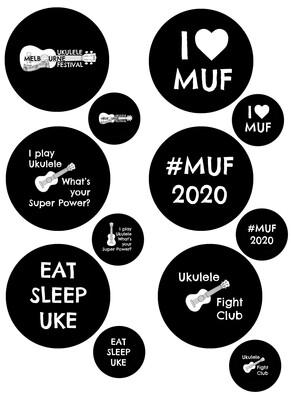 MUF2020 Badges
