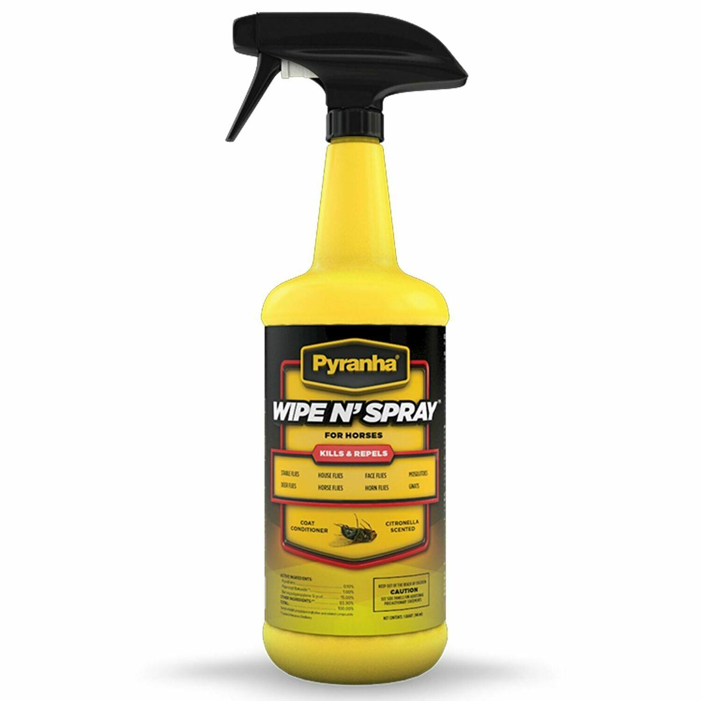 Pyranha Wipe and Spray