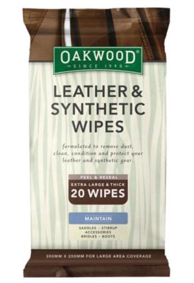 Oakwood Leather Wipes
