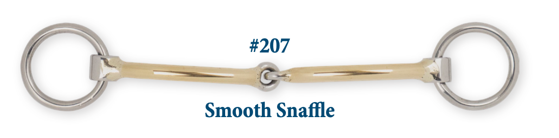 B207 Smooth Snaffle