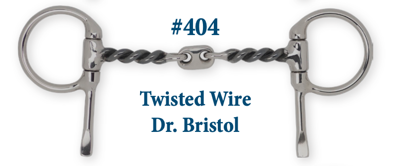 B404 Twisted Wire Dr. Bristol Plate