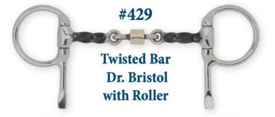 B429 Twisted Bar Dr. Bristol w/ Roller