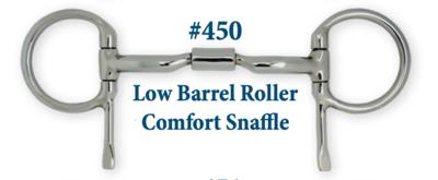 B450 Low Barrel Roller Comfort Snaffle