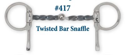 B417 Twisted Bar Snaffle