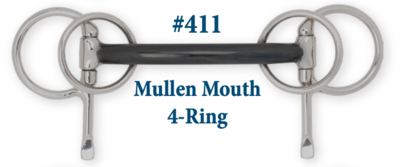 B411 Mullen Mouth 4-Ring