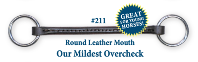 B211 Round Leather Mouth