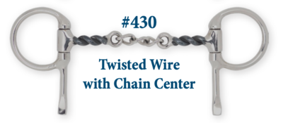 B430 Twisted Wire w/ Chain Center