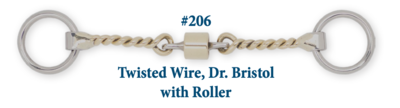 B206 Twisted Wire Dr. Bristol w/ Roller