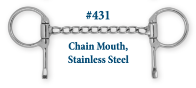 B431 Chain Mouth Stainless Steel