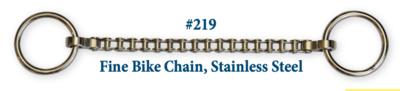 B219 Fine Bike Chain Stainless Steel