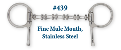 B439 Fine Mule Mouth Stainless Steel