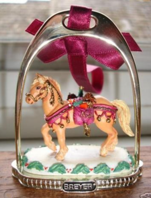Stirrup Ornament: Holiday Stirrup 1999