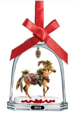 Stirrup Ornament: Woodland Splendor