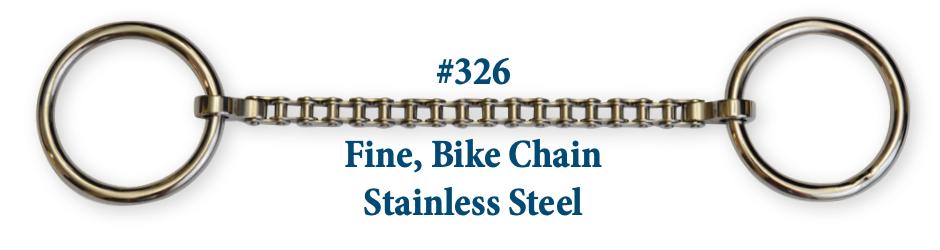 B326 Brad. Fine Bike Chain Stainless Steel