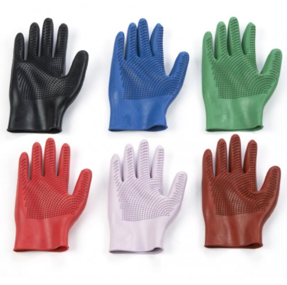 Equi-Essentials Curved Fingers Massage Glove