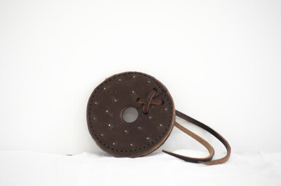 Leather Bit Burrs w/ Metal Spikes