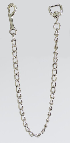 """Solid Brass w/ Chrome Plate Lead Chain 30"""" (1"""" Wide)"""