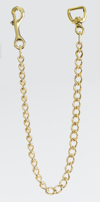 """Solid Brass Lead Chain 30"""" (1"""" Wide)"""