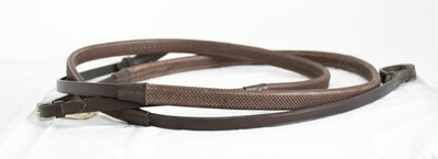 Blue Ribbon Rubber Reins