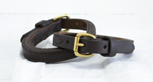 Economy Leather Ankle Straps