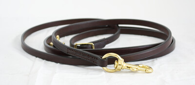 Blue Ribbon Leather Training Reins