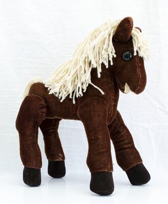 Yarn Mane Toy Horse